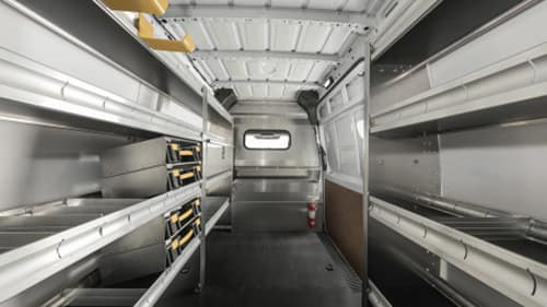 Sprinter Interior With Hooks