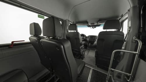 Sprinter Interior With Seats