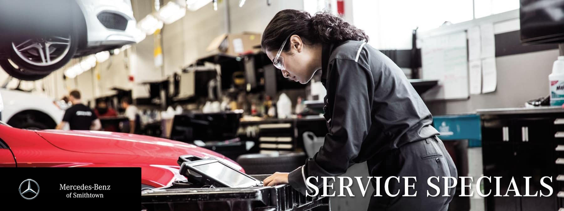Service department stock photo