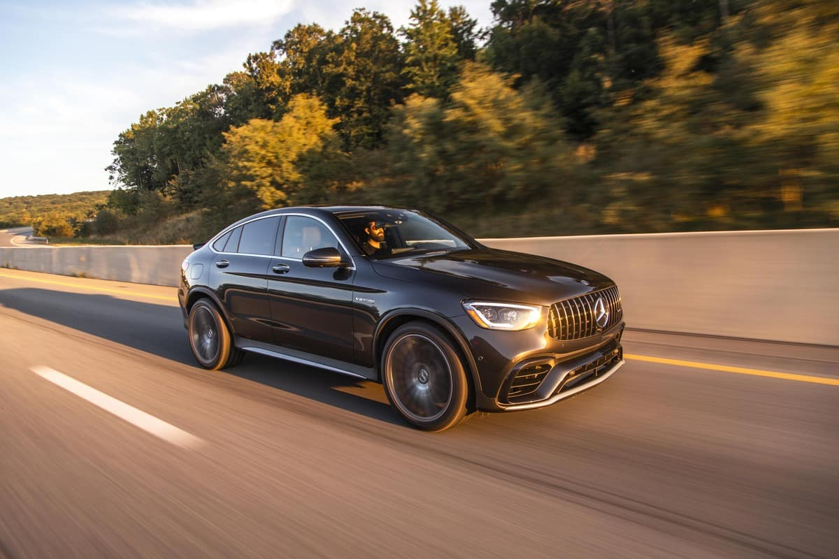 A Powerful Beast The 2020 Mercedes Amg Glc 63 S Coupe Mercedes Benz Of Smithtown