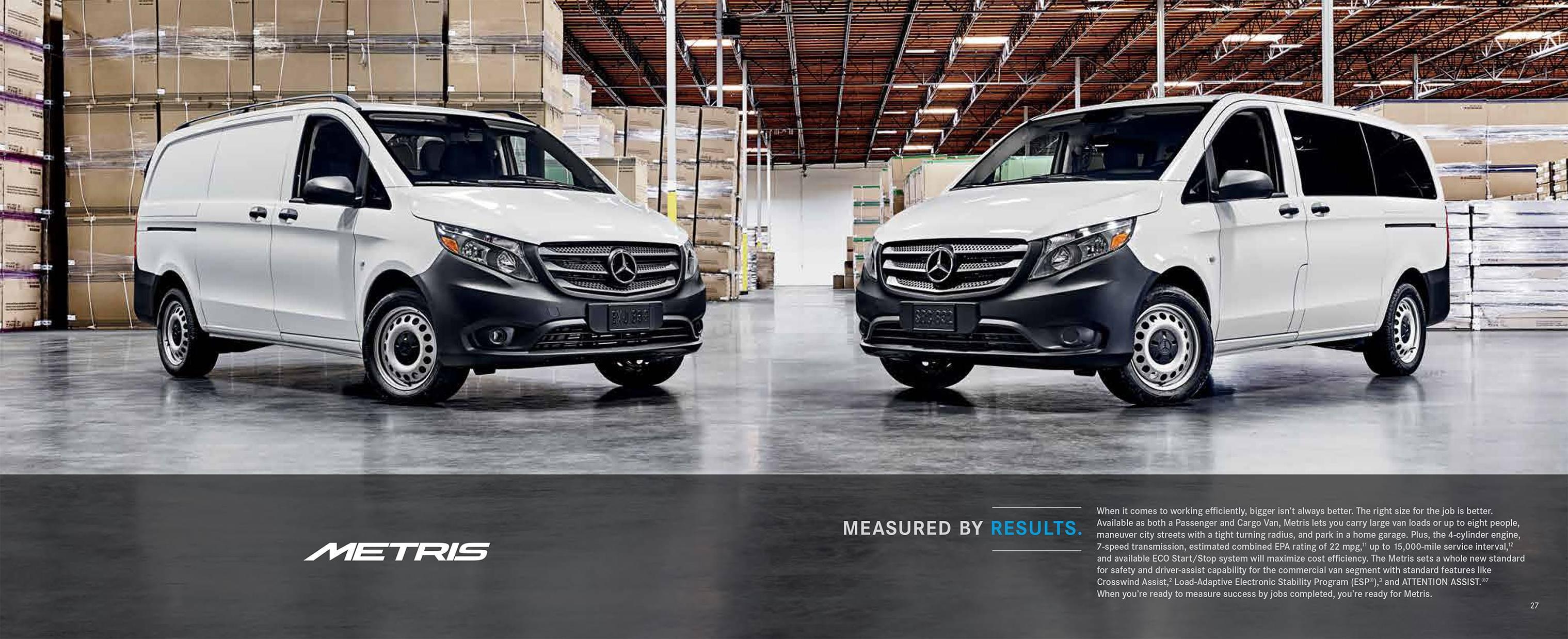 Mercedes Benz Vans Metris