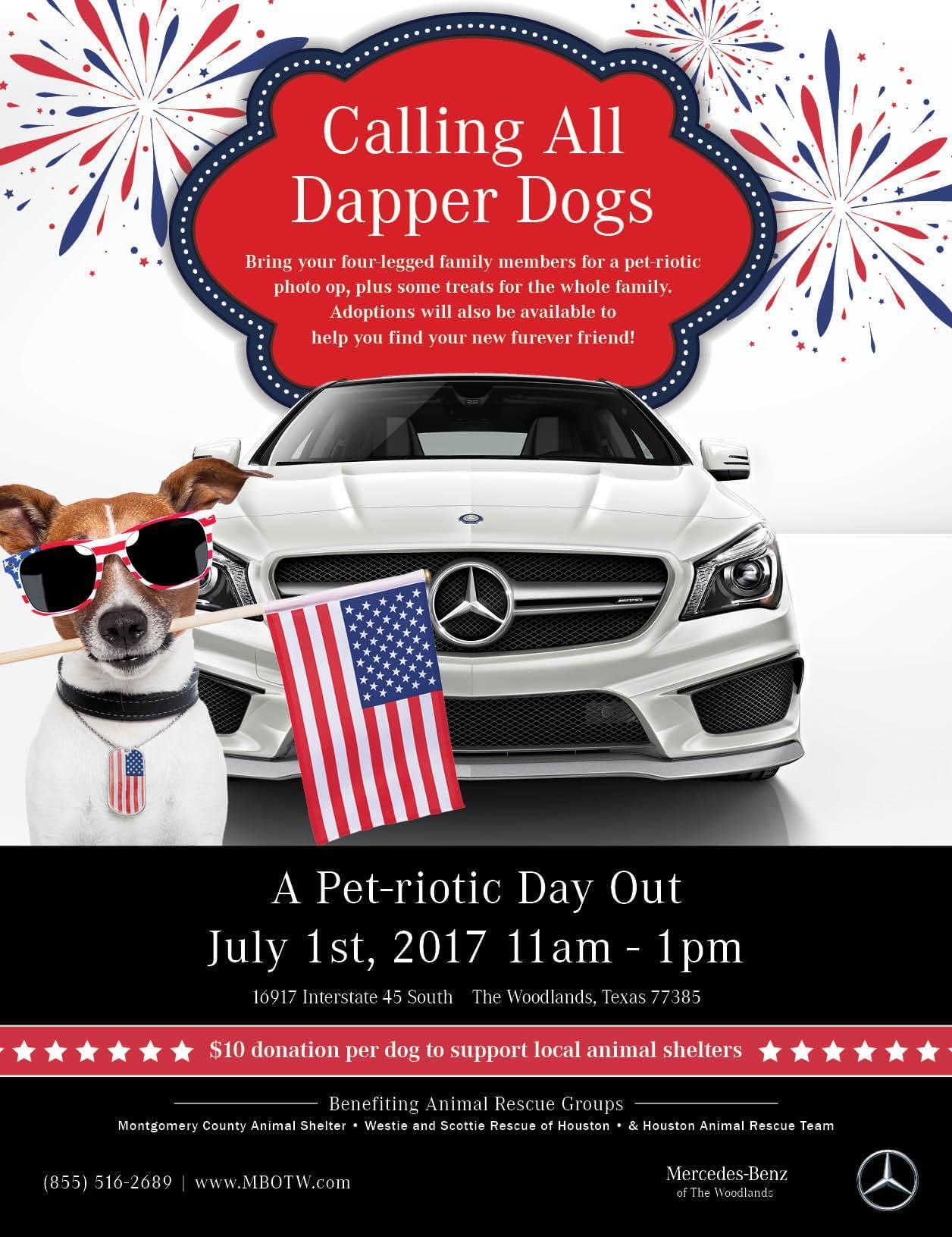 Mercedes-Benz of The Woodlands Pet-riotic FP ad June 2017-FINAL