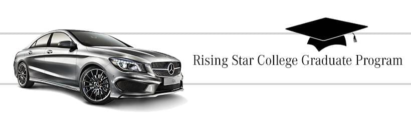 Rising star college graduate program mercedes benz of for Mercedes benz of the woodlands