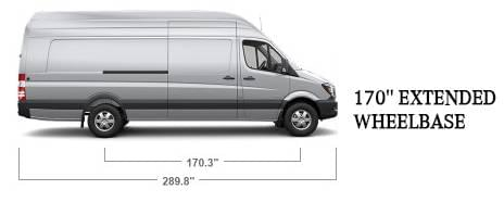 Sprinter cargo 170 extended wheelbase mercedes benz of for Mercedes benz of the woodlands