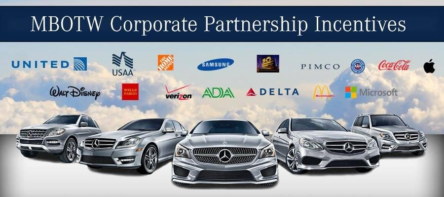 Corporate partners mercedes benz of the woodlands for Mercedes benz of the woodlands