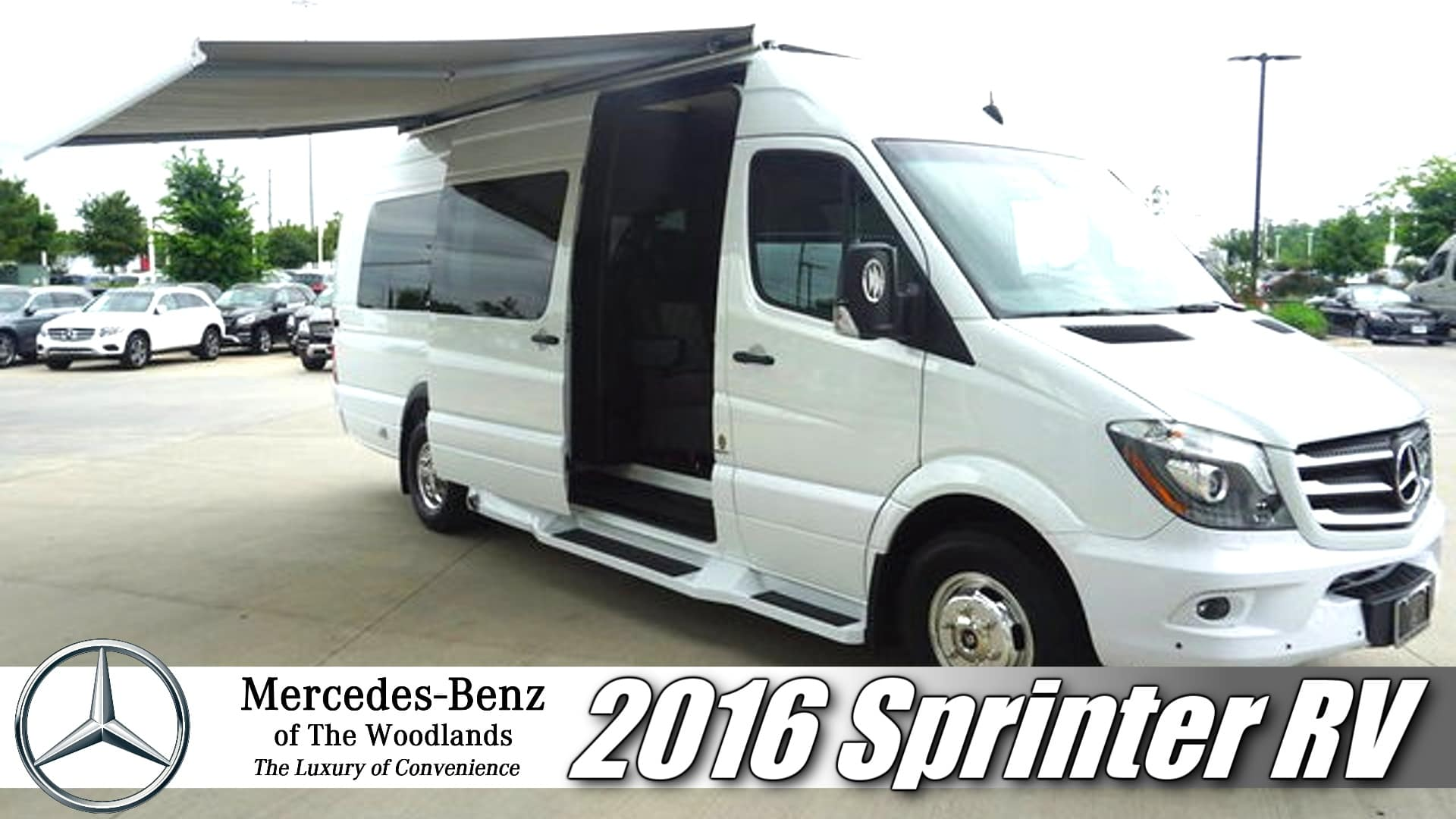 Mercedes Rv Van >> Sprinter Motorhome Foretravel Microvilla Mercedes Benz Of