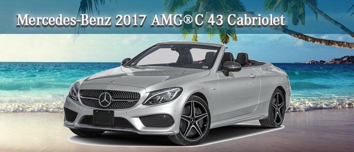 2017 Mercedes-Benz AMG C 43 CABRIOLET