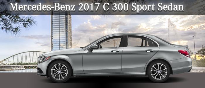 2017 Mercedes-Benz C 300 Sport Sedan