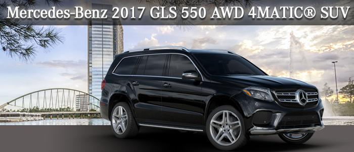 2017 GLS 550 SUV