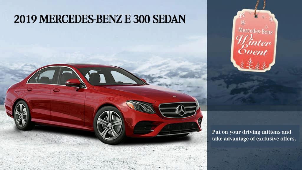 2019 E 300 Sedan