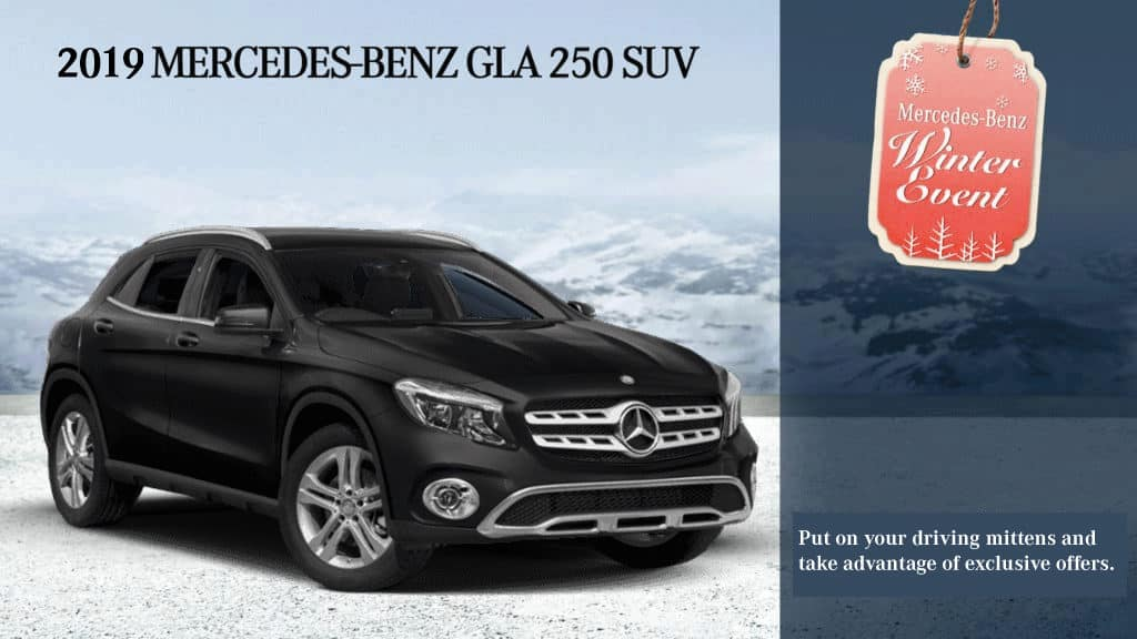 2019 GLA 250 SUV