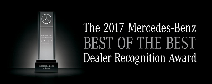 Mercedes benz of the woodlands accolades mercedes benz for Mercedes benz of the woodlands
