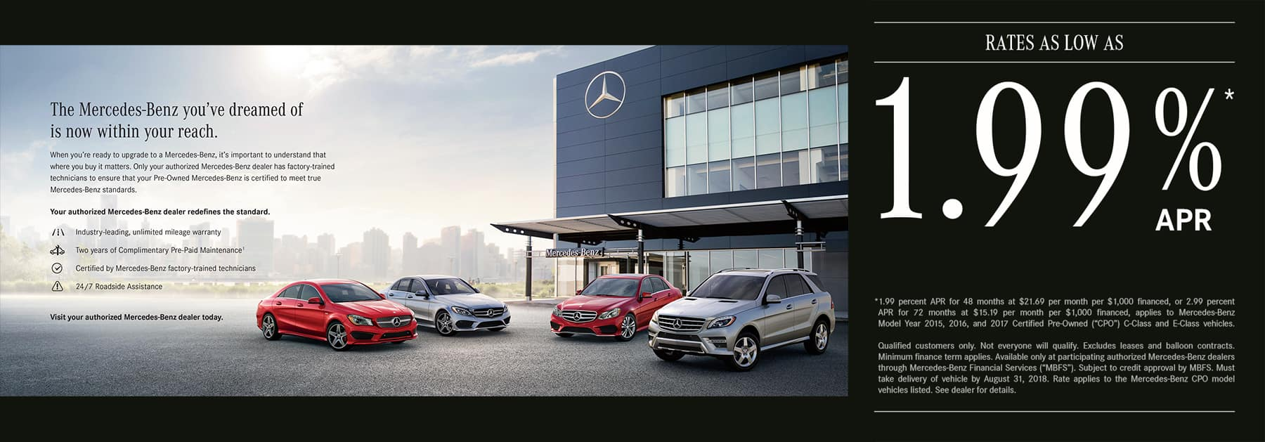 Mercedes Benz Certified Pre Owned Event | It Either Is Or It Isnu0027t