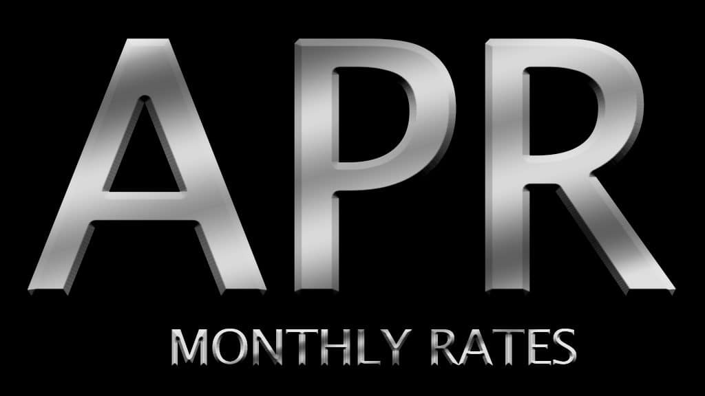 Special APR Rates