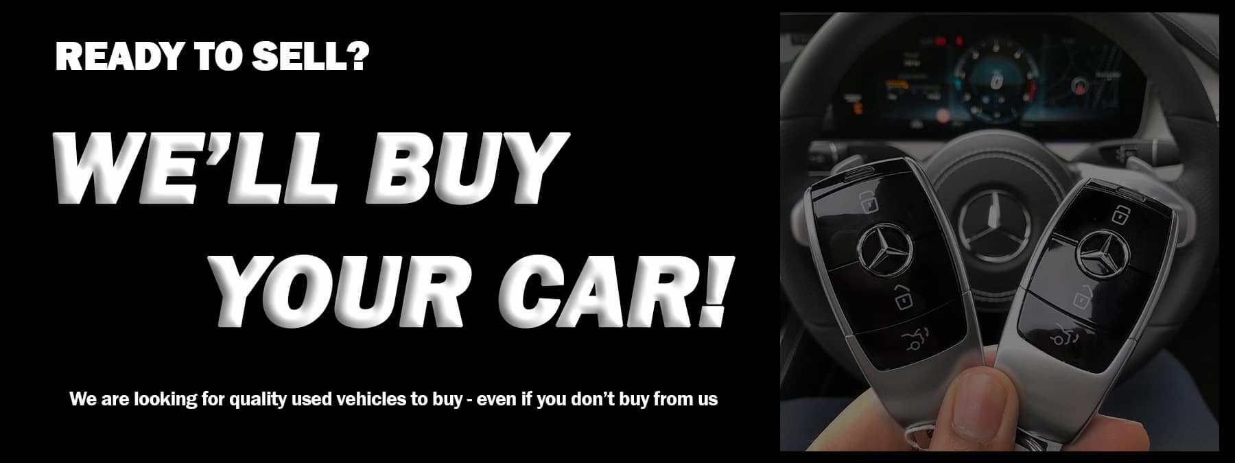 buy your car banner