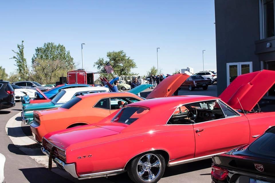 SuperCar Saturday Car Show Mike Ward FIAT Denver Colorado - Classic car show denver