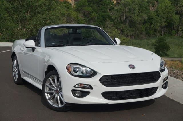 2017 FIAT 124 Spider Lusso Lease