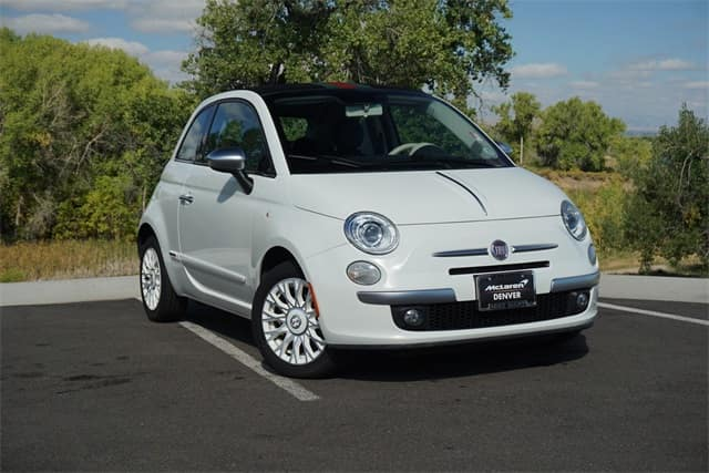 gently pre-owned 2012 fiat 500c lounge convertible for sale