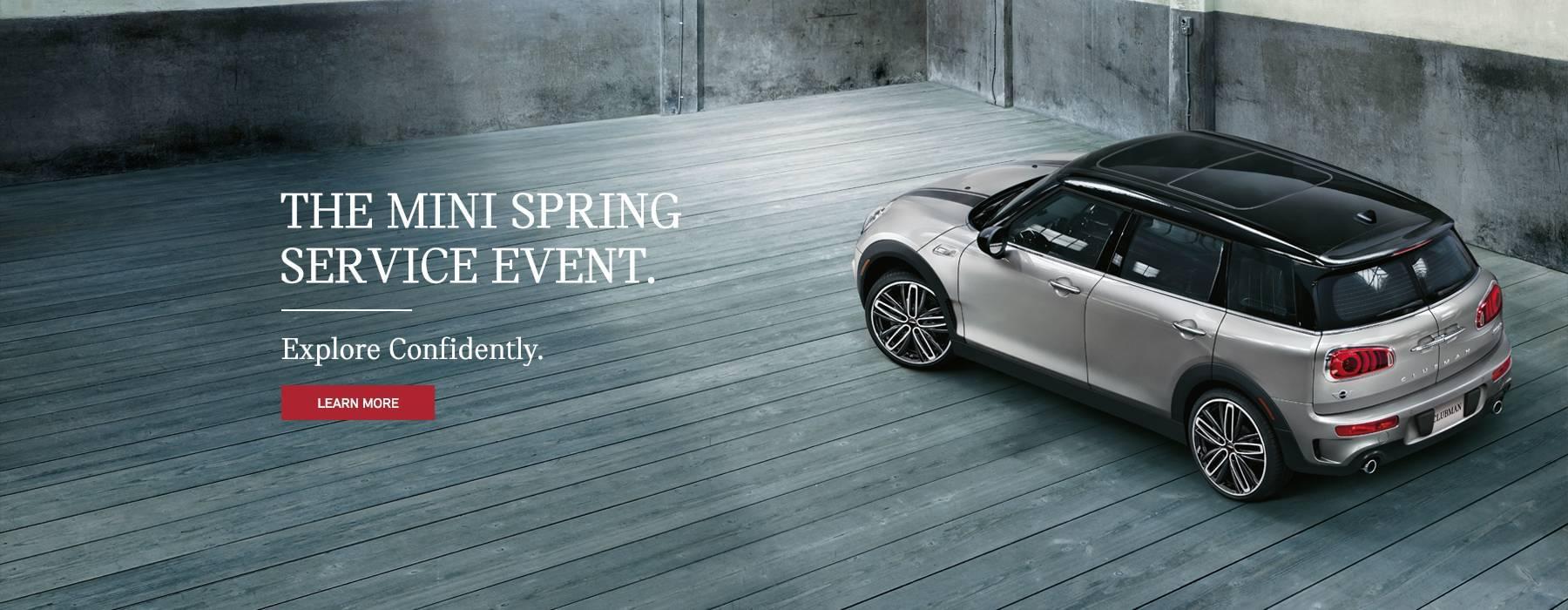 Mini Spring Service Event