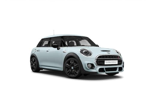 MINI COOPER S ICE BLUE EDITION