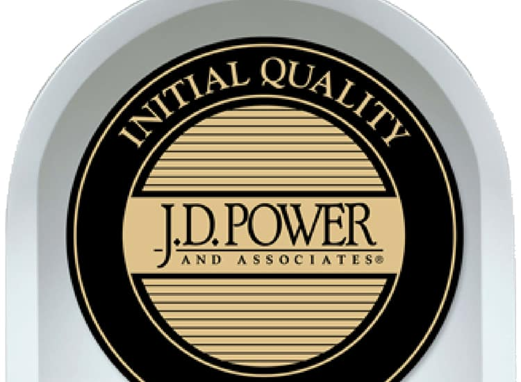 J.D. Power Initial Quality Rankings