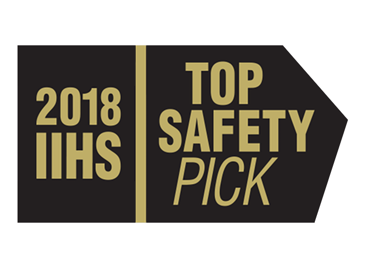 2018 IIHS Top Safety Pick Award