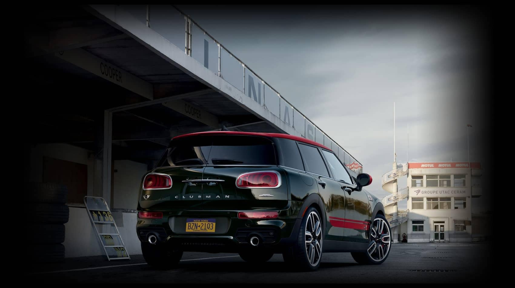 MINI John Cooper Works Clubman Rear View