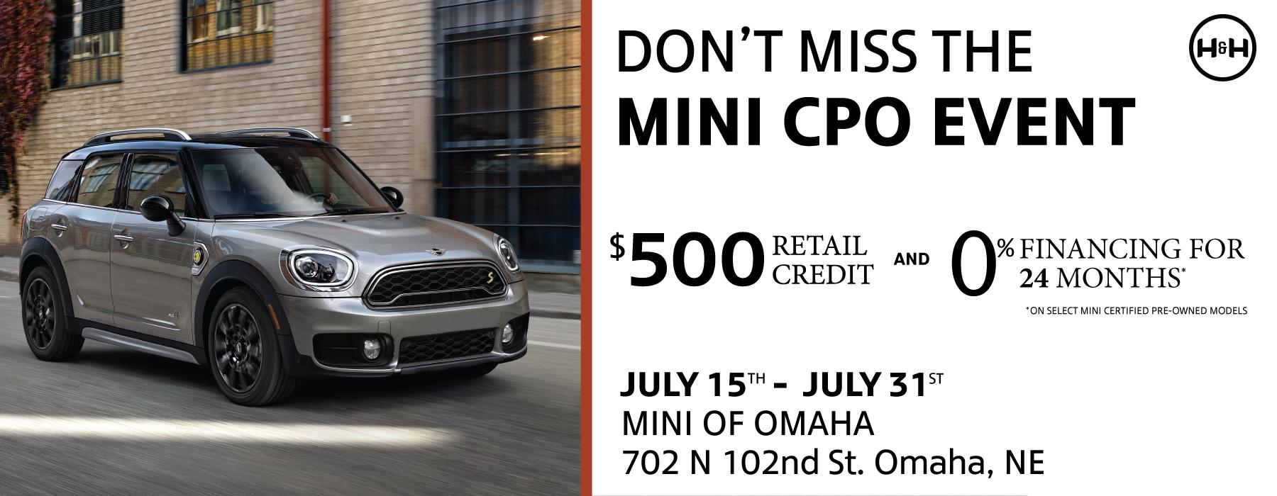 Mini-July-Event