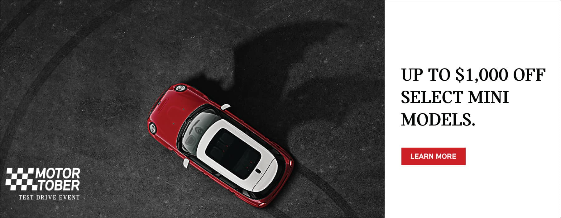 UP TO $1,000 OFF SELECT 2022 MINI MODELS. CLICK TO LEARN MORE.