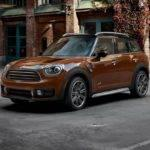 Mini Countryman on a side street