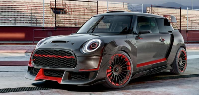 2018 MINI Hardtop 2-Door on raceway