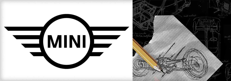 MINI logo + sketch