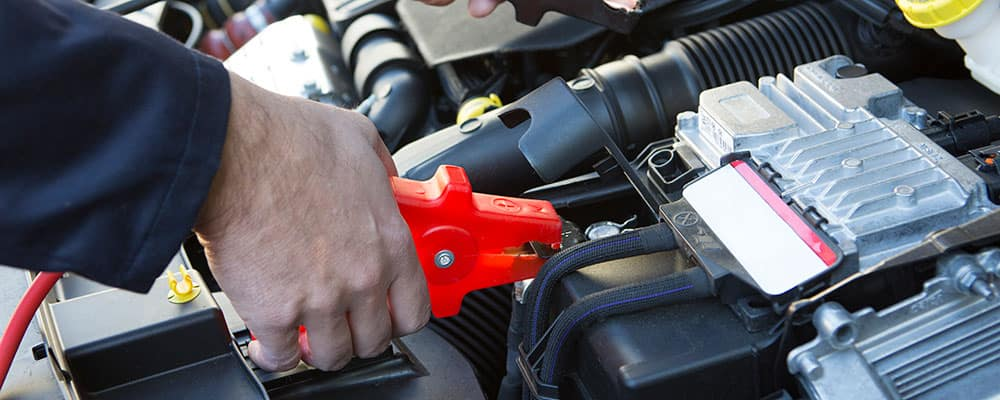 How To Jumpstart A Car Jumping Battery With Cables Santa Monica