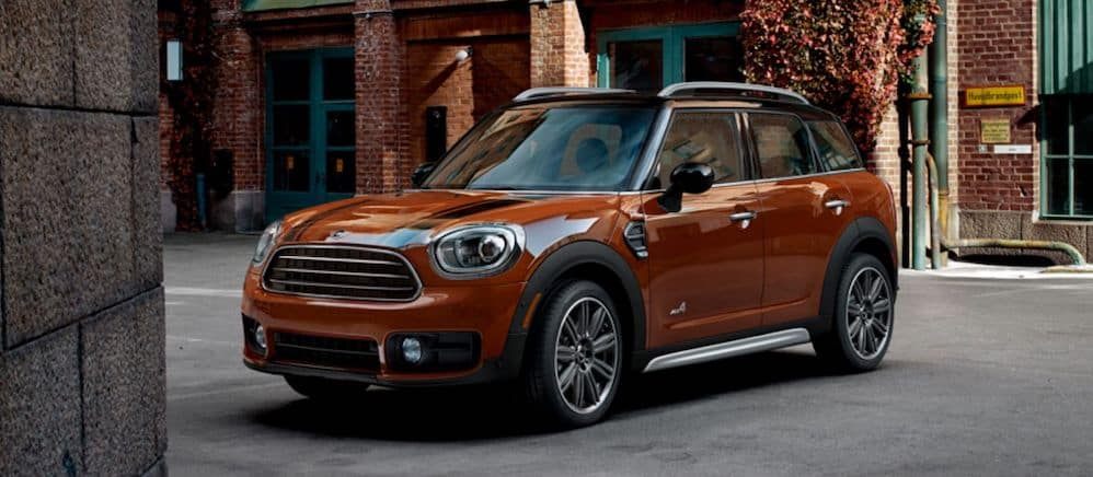 2019 MINI Countryman Parked Outside
