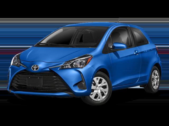 Blue 2018 Toyota Yaris