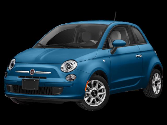 Blue 2019 FIAT 500