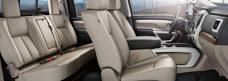Interior Features 2018 Titan