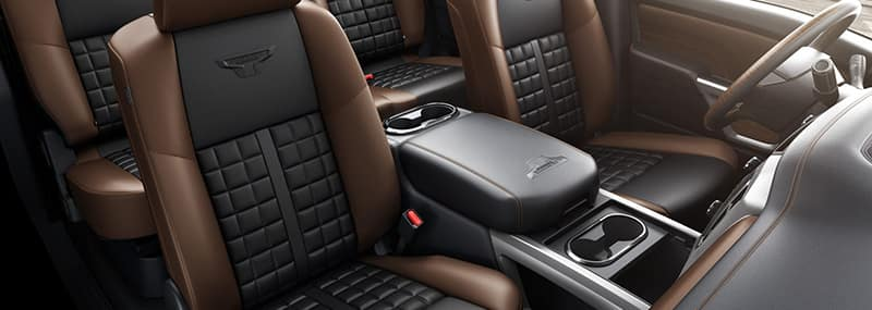 2018 Titan Interior Features