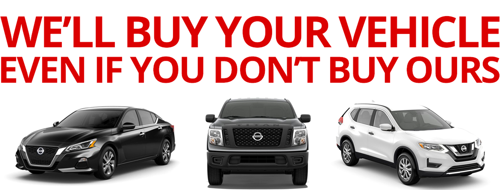Sell Your Car Nissan of Union City