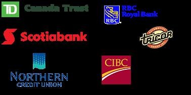 Palladino Bank Logos