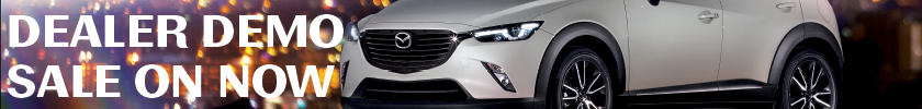 dealer demo sale North Bay Mazda