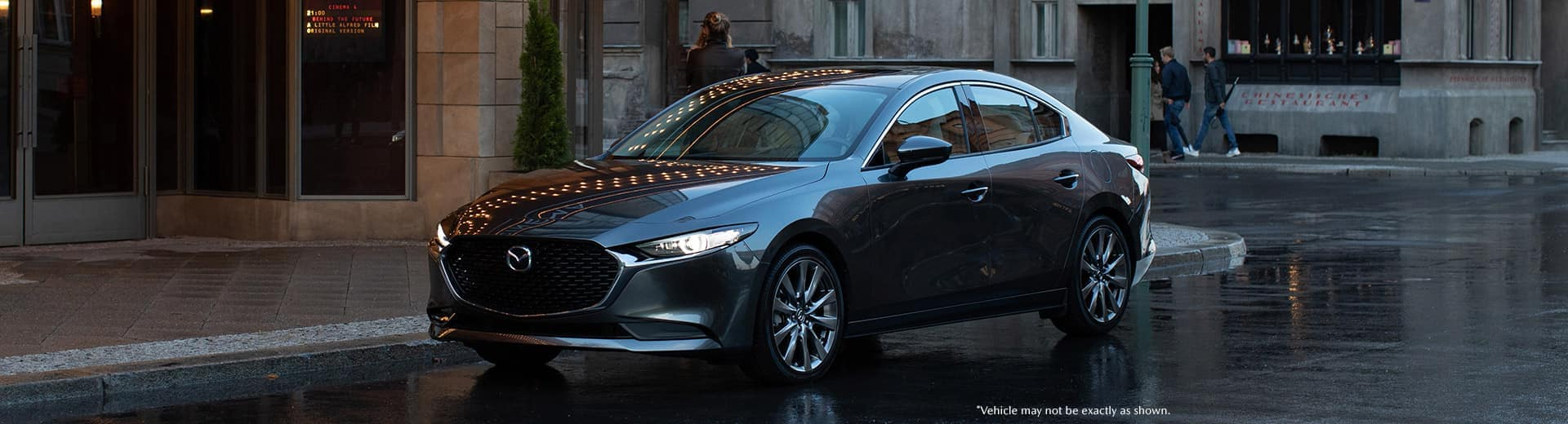 Front shot of the 2019 Mazda3 in London Ontario.