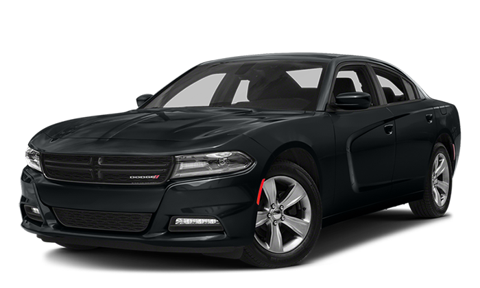2018 Dodge Charger On White copy