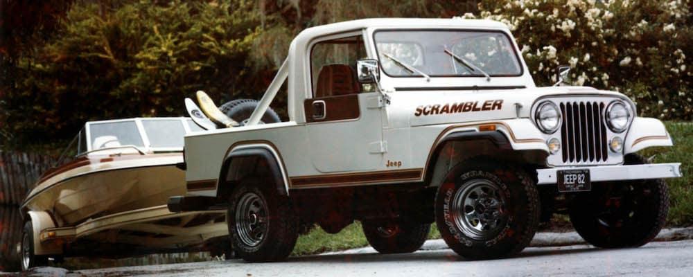1982 Jeep Scrambler Pickup