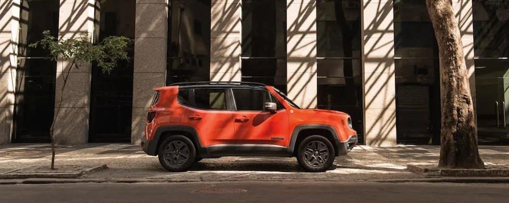 2018 Jeep Renegade in profile