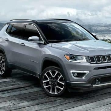2019 Jeep Compass Near Water