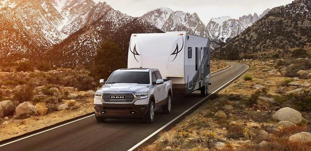 All-New 2019 Ram 1500 towing
