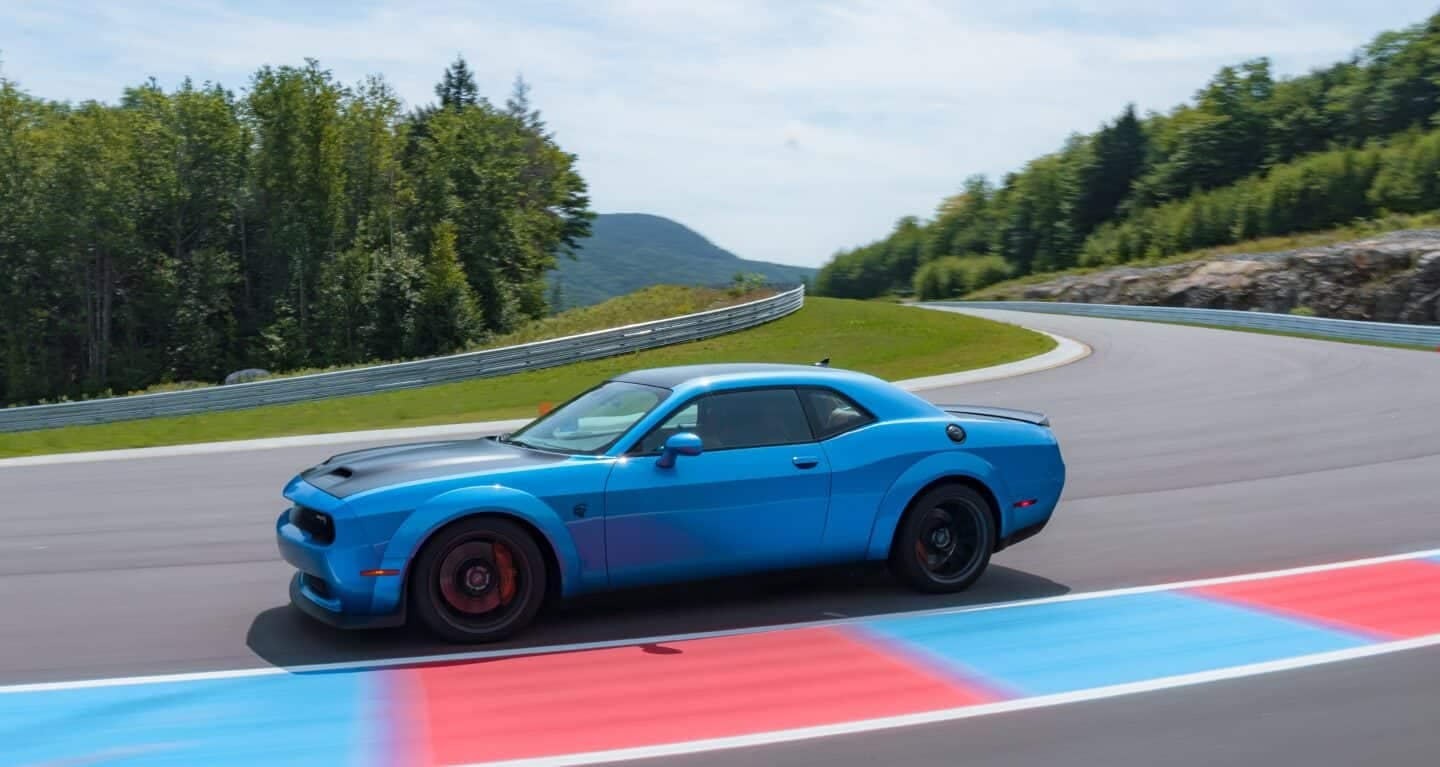 2019 Dodge Challenger On Track