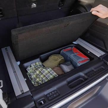 2019 Jeep Wrangler Storage