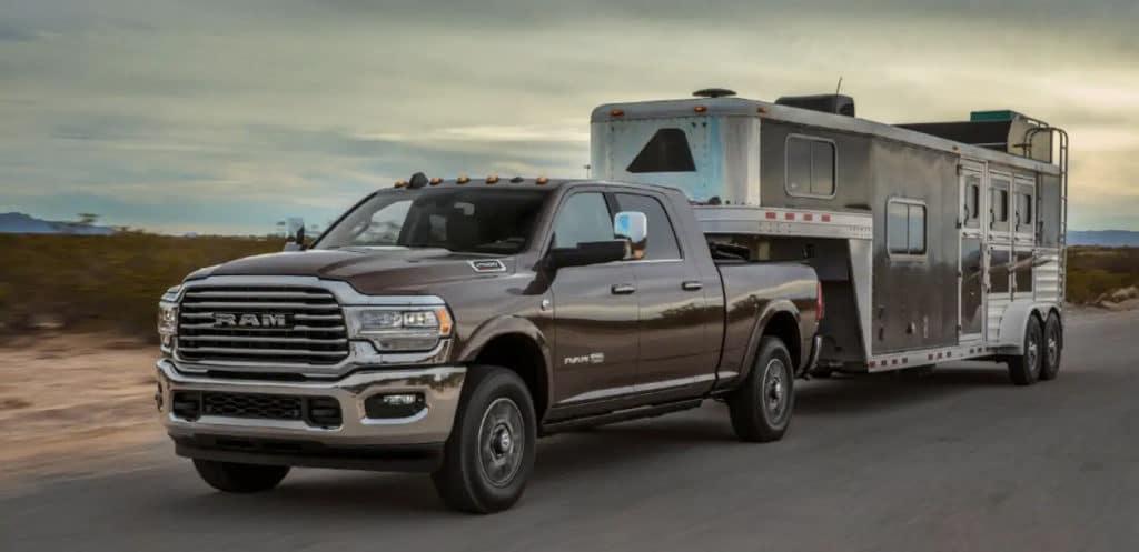 2019 Ram 2500 towing